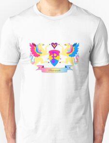 Panromantic Crest Unisex T-Shirt