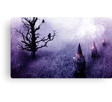 gnome invasion Canvas Print
