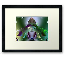 The Great and Powerful Oz Has Spoken!  (UF0032) Framed Print