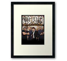 AC N DC ROCK OR BUST WORLD TOUR 2015 Framed Print