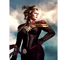 Ronda Rousey should play Captain Marv.. Photographic Print