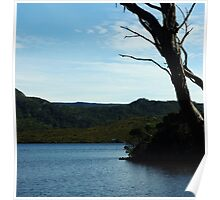 Dove Lake, scenic view, The Boathouse Poster