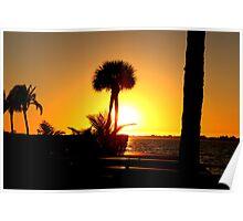 Sunset - Lido Key Poster