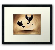 flight and Framed Print