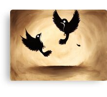 flight and Canvas Print