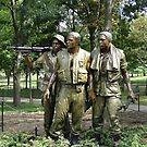 The Three Servicemen by Barrie Woodward