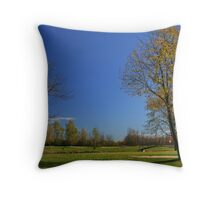The Leaves They Are A Changing! Throw Pillow