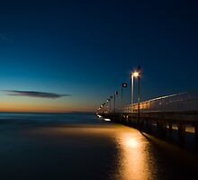 The Pier by night by Gerard Rotse