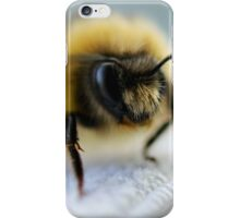 Macro Bee iPhone Case/Skin