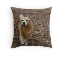 I'm Right Behind You Ma! Throw Pillow