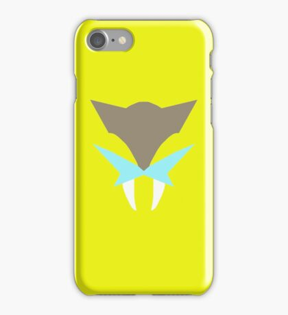 Pokemon Faces - Raikou iPhone Case/Skin