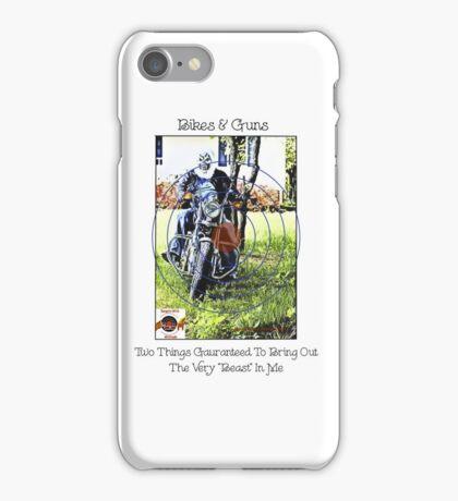 Bikes & Guns iPhone Case/Skin