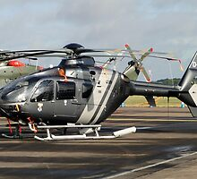 EuroCopter EC135 by Barrie Woodward