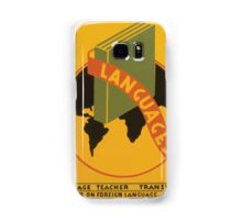 WPA United States Government Work Project Administration Poster 0965 Languages Samsung Galaxy Case/Skin