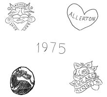 Matty Healy Tattoos Doodles by arzec