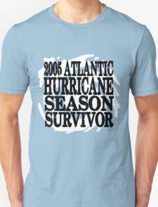2005 Hurricane Season Survivor T-Shirt