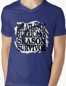 2005 Hurricane Season Survivor Mens V-Neck T-Shirt