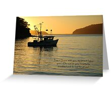 John 14:27 Greeting Card