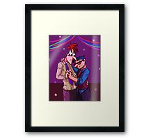 And We Danced Framed Print