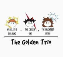 One, two, TRIO. Kids Tee