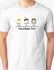 One, two, TRIO. Unisex T-Shirt