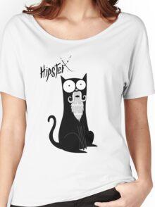 Hipster Beard Women's Relaxed Fit T-Shirt