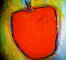 red apple by Mark Stanley