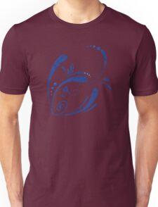Cool Fish Grunge Twirls Unisex T-Shirt