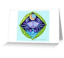 Zodiac Cancer Greeting Card