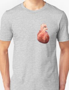 Awesome Real Heart Unisex T-Shirt