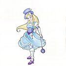 Steampunk Alice by Karen  Hallion