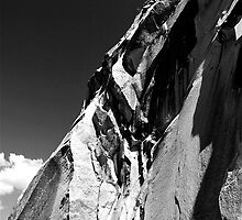 Facing up Half Dome by MickeyD48