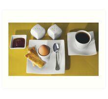 Breakfast for One Art Print