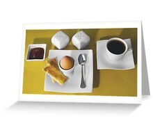 Breakfast for One Greeting Card