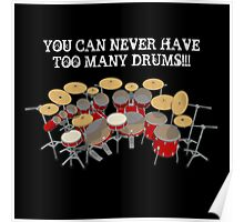 Too Many Drums! Poster