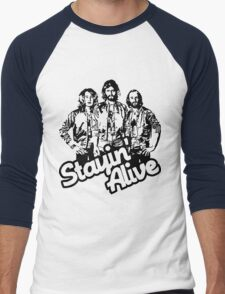 Stayin' Alive Men's Baseball ¾ T-Shirt