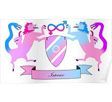 Intersex Crest Poster