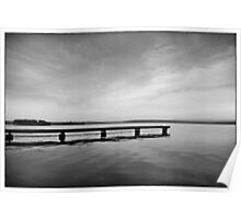 beyond the jetty - st georges basin, south coast, nsw Poster
