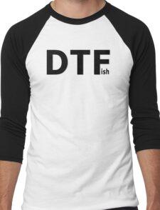 DTFish Men's Baseball ¾ T-Shirt