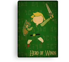 Hero of Winds Canvas Print