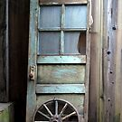 An old door by Barbara Anderson