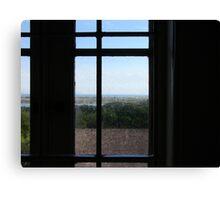 Through the Lighthouse Window Canvas Print