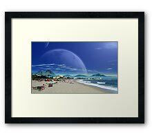 Saltus Bay Point Framed Print
