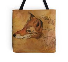 Curious Mr.Fox Tote Bag