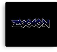 1980's video games: Zaxxon Canvas Print