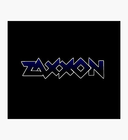 1980's video games: Zaxxon Photographic Print