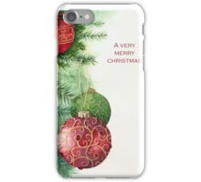 Ornaments and foliage iPhone Case/Skin