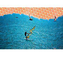 Abstract Sailing Dreams Photographic Print
