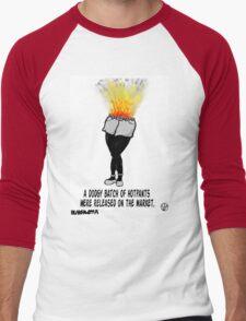Dodgy Hotpants. Men's Baseball ¾ T-Shirt