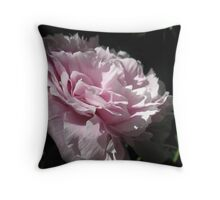 The Spring Peony Throw Pillow